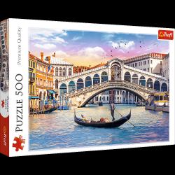 Puzzle Most Rialto Wenecja 500 el. Trefl 37398