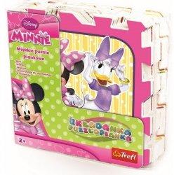 Puzzle piankowe Myszka Minnie Trefl 60297
