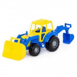 Majster traktor koparka Polesie 35318