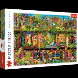 Puzzle Baśniowa Biblioteczka 1500 el. Trefl 26165