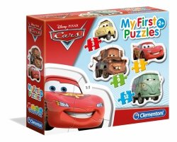 Moje Pierwsze Puzzle Cars Auta 3/6/9/12 el. Clementoni 20804