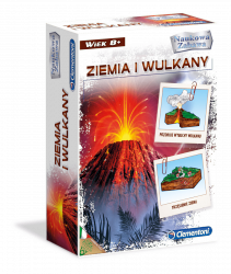 Gra edukacyjna Ziemia i wulkany Clementoni 60051