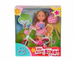 Lalka Evi na rowerze Simba 5731715