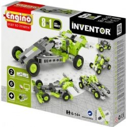 Klocki konstrukcyjne Engino Inventor 8w1 Samochody Formatex 0831