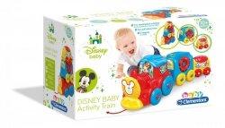 Aktywizujący Pociąg do Ciągniecia Baby Disney Clementoni 17168