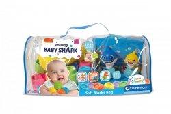 Klocki Clemmy w Torbie Baby Shark 20 el. Clementoni 17428