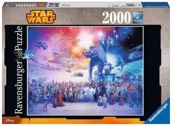 Puzzle Wszechświat Star Wars Gwiezdne Wojny 2000 el. Ravensburger 167012