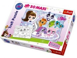 Puzzle Littlest Pet Shop maxi 30 el. Trefl 14409