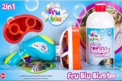 Miotacz baniek + płyn 0,5 l Fru Blu TM Toys 10242