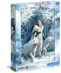 Puzzle Zimowi Strażnicy Kolekcja Anne Stokes 1000 el. Clementoni 39477