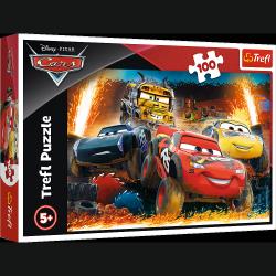 Puzzle Cars Auta 3 Ekstremalny wyścig 100 el. Trefl 16358