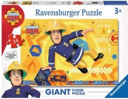 Puzzle podłogowe Strażak Sam 24 el. Ravensburger 054466