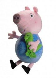 Maskotka George z Przyjacielem z bajki Świnka Peppa 35 cm TM Toys