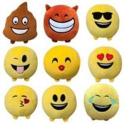Pluszowe emotikony IMOJI 11 cm mix TM Toys 46000