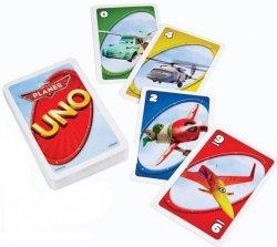 Gra Karty UNO Samoloty Planes Mattel BGG50