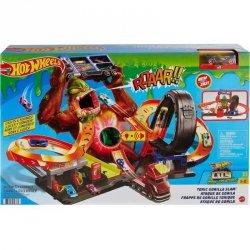 Hot Wheels City vs. Toxic Creatures Zestaw Goryl Toksyczny Atak Mattel GTT94
