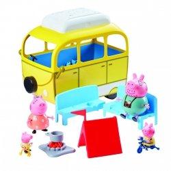 Kamper Świnki Peppy z 4 figurkami TM Toys 06922