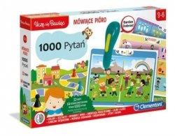 Gra edukacyjna Mówiące pióro 1000 pytań Clementoni 50653
