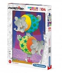 Puzzle Balans Mordillo 104 el. Clementoni 27134