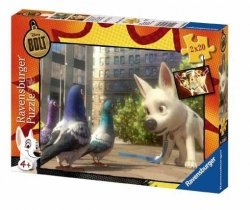 Puzzle Piorun Mały Wielki Pies 2x20 el. Ravensburger 089857