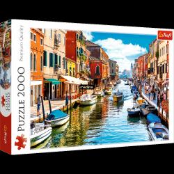 Puzzle Wyspa Murano Wenecja 2000 el. Trefl 27110