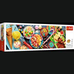 Puzzle Słodkie Przysmaki 1000 el. Trefl 29046