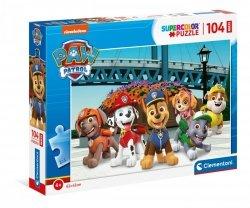 Puzzle Maxi Psi Patrol Paw Patrol 104 el. Clementoni 23755