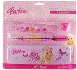 Barbie Zestaw 5 przyborów szkolnych Pentra 886360