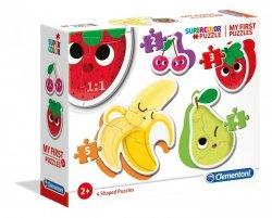 Moje Pierwsze Puzzle Owoce 2/3/4/5 el. Clementoni 20815