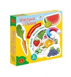 Zabawka Magnesiaki Warzywa i owoce Alexander 2368