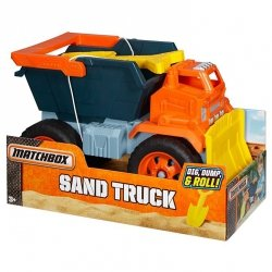 Ciężarówka Piaskarka Sand Truck Matchbox Mattel DJH47