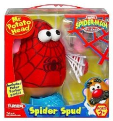 Pan Kartoflana Głowa SpiderMan Playskool 02422