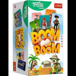 Gra Karciana Boom Boom Rodzina Treflików Trefl 02122