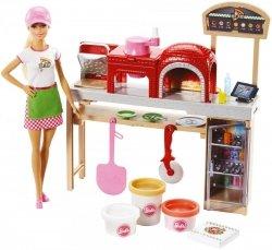 Lalka Barbie Zestaw Pizzeria Mattel FHR09