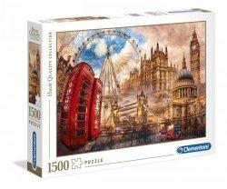 Puzzle Vintage Londyn 500 el. Clementoni 31807