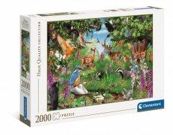 Puzzle Fantastyczny Las 2000 el. Clementoni 32566
