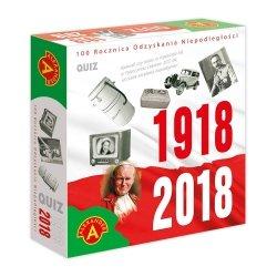 Gra edukacyjna Quiz 100 Rocznica Odzyskania Niepodległości Alexander 2043