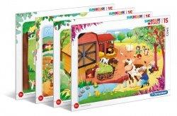 Puzzle Ramkowe Farma 15 el. Clementoni 22233
