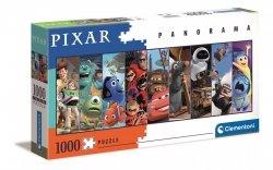 Puzzle Panoramiczne Bohaterowie Bajek Disney Pixar 1000 el. Clementoni 39610