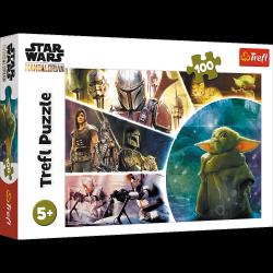 Puzzle Baby Yoda Star Wars 100 el. Trefl 16413