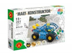 Zestaw Konstrukcyjny Mały Konstruktor Bolid 201 el. Alexander 2311