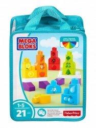 Klocki Kolorowa układanka Mega Bloks DXH33