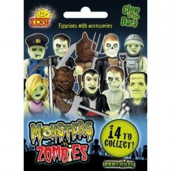 Figurka Monsters vs Zombies saszetka Cobi 28001