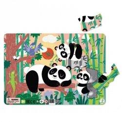 Puzzle Ramkowe Pandy 21 el. Dodo 300222