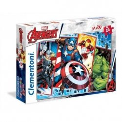 Puzzle Maxi The Avengers 24 el. Clementoni 24037