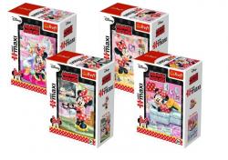 Puzzle Ulubione zajęcia Myszka Minnie mini maxi 20 el. Trefl 56005