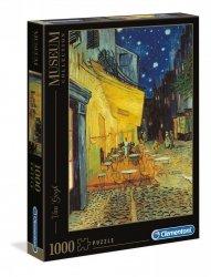 Puzzle Taras Kawiarni w Nocy Van Gogh 1000 el. Clementoni 31470