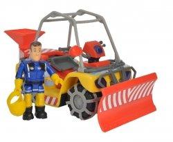Strażak Sam Pojazd Ratowniczy Śnieżny Quad Mercury z figurką Simba 9251049