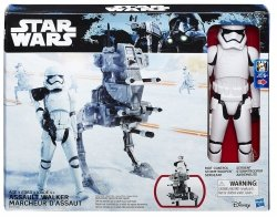 Pojazd Stormtrooper i Assault Walker 30 cm Star Wars Hasbro B3919