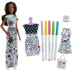 Lalka Nikki Zestaw Kolorowa Moda Crayola Barbie Mattel FPH91